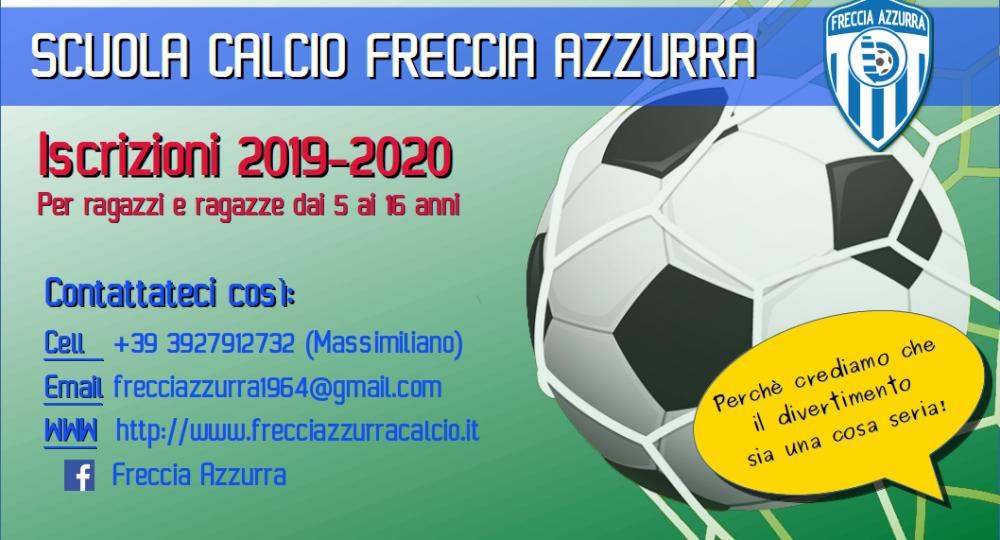 Iscrizioni stagione 2019/2020